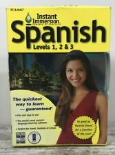 Instant Immersion: Levels 1, 2 & 3 Family Spanish Complete Edition Audio Cd's