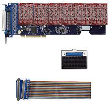 24 port FXO Card TDM2400P asterisk card with 6 quad FXO module freepbx tdm2400
