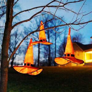 1 Stück Halloween Glühender Hexenhut Leuchthütte Kopfschmuck Halloween Deko🔥