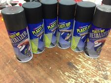 Plasti Dip Matt Black Charcoal Pearl Spray Cans (WHEEL PACK) 6 cans