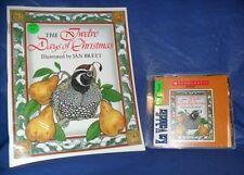 """THE TWELVE DAYS CHRISTMAS""  SCHOLASTIC BOOK & AUDIO CD  ~LIKE NEW~  SHIPS FREE"