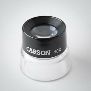 Carson 10x Magnifying Loupe