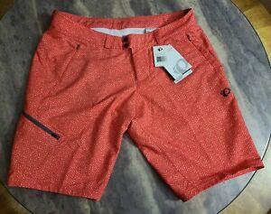 PEARL IZUMI Women's Launch Shorts, XX-Large 2XL red