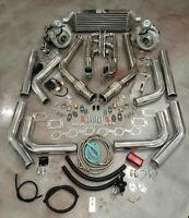 FOR Ford Mustang V6 3.8L TWIN TURBO T3T4 Turbocharger Kit Custom Built 550+ HP!