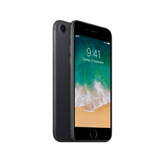 Apple iPhone 7 - 32GB 4G LTE IOS Black (Factory Unlocked) 9/10