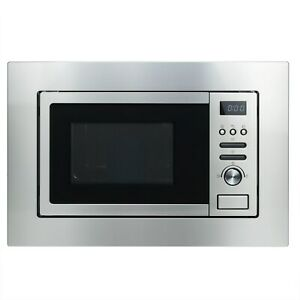 electriQ 20L 800W Stainless Steel Built-In Digital Microwave with Grill