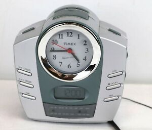 Timex T318S Alarm Clock Radio 3 Relaxing Nature Sounds Analog and Digital