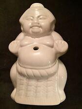 Sumo Wrestler Mug / Glass White Ceramic Bennihana / Arirang