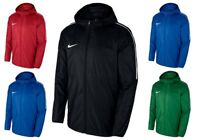 Nike Boys Kids Dry Park18 Rain Jacket Windbreaker Waterproof Raincoat Hoodie