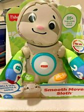 Fisher- Linkimals Smooth Moves Sloth Toy for Babies Ages 9 Months and Older
