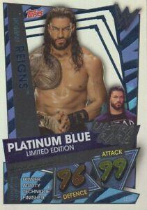 WWE Slam Attax 2021 - ICONS, 100 & 101 CLUB, XL, LIMITED EDITION & RARE cards