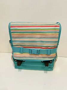 *NEW* RARE Thirty One Making Memories Rolling Soft Cooler thermal Sunny Stripe