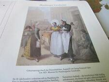 Hamburg Archiv 2 Geschichte 2057 Geburtsanzeige durch d  Dienstmädchen 1825 Opiz