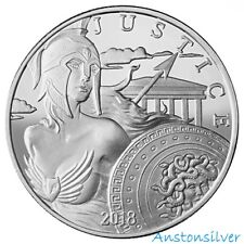 2018 Athena Silver Round - Modern Ancients Series - 1 oz .999 Silver