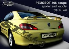 SPOILER REAR BOOT TRUNK PEUGEOT 406 COUPE WING ACCESSORIES