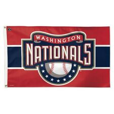 Washington Nationals Cooperstown Collection 3'X5' Deluxe Flag Brand New Wincraft
