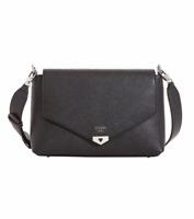 Guess Lottie Medium Shoulder Bag – Black