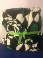 """Vera Bradley Throw Blanket Imperial Rose 80"""" x 50"""" #12408-D18 NEW WITH TAGS"""