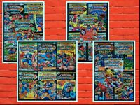 Lot of 21 Captain America #193-214 -No 200 All Jack Kirby Art Avg VF See Listing