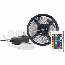 SUPERNIGHT® RGB 5M 300 LED Strip Light 3528 Waterproof+24-keys Controller+Power