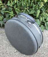 "American Tourister Tiara Luggage 16"" Train Hat Box Carry-On Round Gray Suitcase"