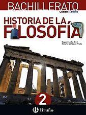 (16).HISTORIA DE LA FILOSOFIA 2º BACHILLERATO. ENVÍO URGENTE (ESPAÑA)