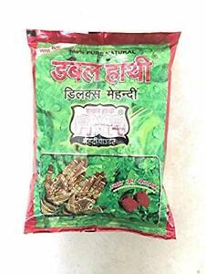 DOUBLE HATHI 100% Natural Mehndi Powder-1kg Deluxe Pack
