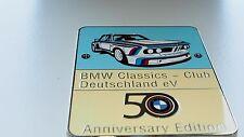 BMW E9 grill badge club emblem badge 2800 CS 2800 CS 3.0 CS 3.0 CSA 3.0 CSi 3.0
