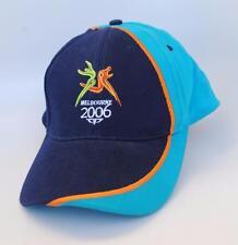 MELBOURNE 2006 XVIII COMMONWEALTH GAMES Baseball Cap Hat Adjustable 59cm Blue