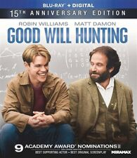 Good Will Hunting New Sealed Blu-ray 15th Anniversary Edition