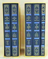 History of England From The Accession of James II Five Volumes Macaulay FOLIO