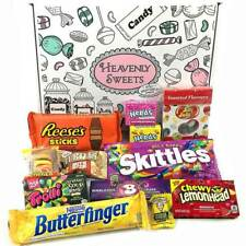 American Candy Gift Box Hamper   USA Sweets Chocolate   Reeses Jelly Belly Nerds