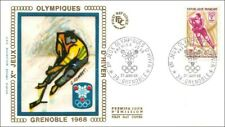 Xes JEUX OLYMPIQUES D'HIVER  - GRENOBLE  - 1968 - FDC