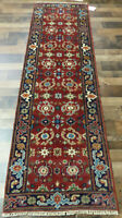 """2'5""""x8' New fine Hand knotted Wool Super Mahal Oriental area rug runner"""