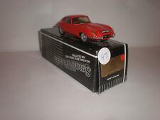 1/43 Small Wheels SW11  1961-1962 Jaguar FHC  E-type red  Very rare