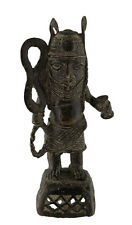 GUERRIER  IFE ROYAUME DU BENIN  STATUE BRONZE AFRICAIN-1186-AFRI6