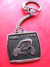 Ancien porte cle Publicitaire Alsacien banania Ford t 1910 vintage