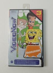 VideoNow Nickelodeon Cartoon 3 Pack PVD Favorites Spongebob, Neutron, Chalk Zone