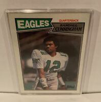 1987 Randall Cunningham Topps Rookie Philadelphia Eagles #296 Great Condition