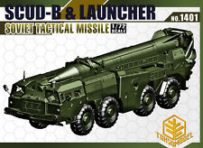 Toxso Model Scud-B & Launcher, Soviet Tactical Missile Model Kit 1/72