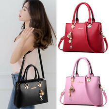 Women Faux Leather Shoulder Bag Purse Handbags Crossbody Messenger Totes Satchel