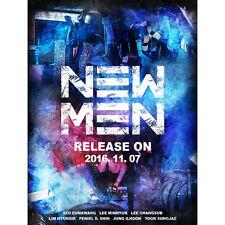 BTOB-[NEW MEN] 9th Mini Album CD+POSTER+120p Photo Book+Photo Card K-POP Sealed