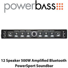 Powerbass XL-1200 - 12 Speaker 500W Amplified Bluetooth PowerSport Soundbar BNIB