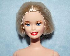 REFINED Cute Short Blonde Hair NUDE Twist & Turn BARBIE for OOAK or Repaint