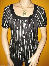Monsoon Women's Silk Scoop Neck Tunic, Kaftan Tops & Shirts