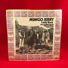 "MUNGO JERRY Lady Rose EP 1971 UK 4-track 7"" vinyl single EXCELLENT CONDITION"