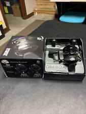 New ListingZebco Omega Pro Zo2 With Extra Spool And Handle Black Push Button Fishing Reel