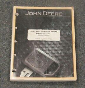 John Deere 2.9L Diesel Engines 5410N 5210 5220 Componant Technical Manual CTM125