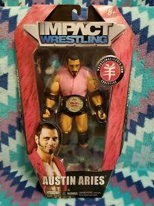 TNA Jakks Deluxe Impact Austin Aries Ringside Exclusive