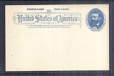 1891 US UX11 Postal Card - 1 Cent Blue w/ Grant - Mint Unused Post Office Fresh*